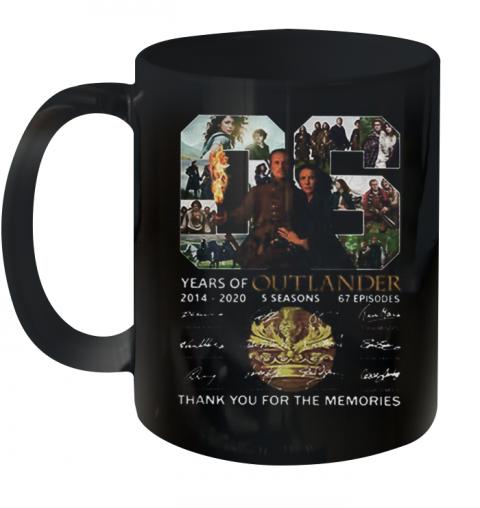 06 Years Of Outlander 2014 2020 Signatures Quality Mug 11oz