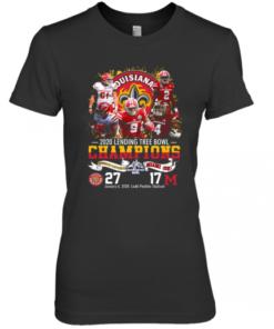 2020 Lendingtree Bowl Champions Louisiana Lafayette Vs Miami Premium Women's Quality T-Shirt