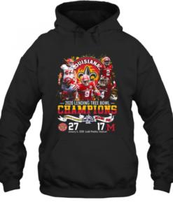 2020 Lendingtree Bowl Champions Louisiana Lafayette Vs Miami Quality Quality Hoodie