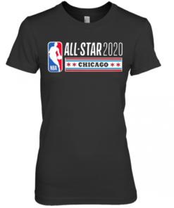 2020 Nba All Star Game Super Premium Women's Quality T-Shirt