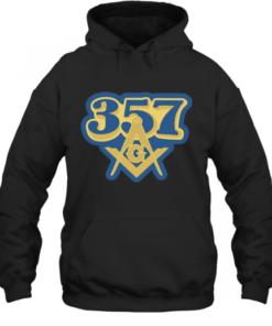 357 Freemasonry Logo Quality Quality Hoodie