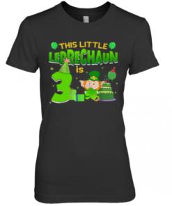 3Rd Birthday St. Patrick'S Day Premium Women's Quality T-Shirt