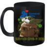 Baby Yoda General Mills Survived Covid 19 2020 Quality Mug 11oz