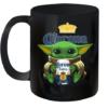 Baby Yoda Hug Corona Extra Quality Mug 11oz