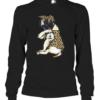 English Mastiff Dog Tattoo I Love Mom Quality Long Sleeve Quality T-Shirt