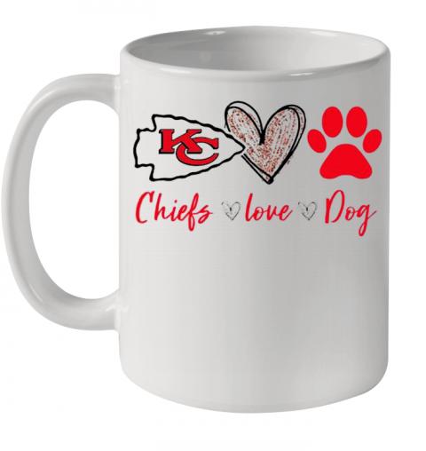 Kansas City Chiefs Love Dog Quality Mug 11oz