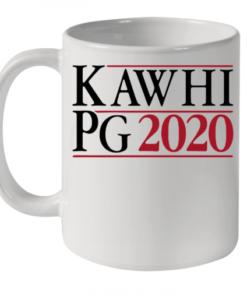 Kawhi Leonard Paul George Campaign In 2020 Quality Mug 11oz