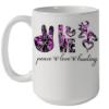 Peace Love Hunting Quality Mug 15oz