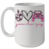 Peace Love Jeep Quality Mug 15oz