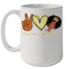 Peace Love Melanin Quality Mug 15oz
