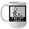 Pelosi Trump 220 Quality Mug 15oz