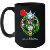 Pennywise IT Mashup Rick And Morty Halloween Quality Mug 15oz