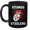 Rolling Stones Logo Pittsburgh Steelers shirt Quality Mug 11oz
