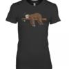 Sloth Zzz Leopard Premium Women's Quality T-Shirt