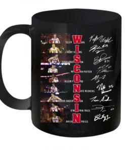 Wisconsin Tyler Wahl Kobe King Brad Davison Signatures Quality Mug 11oz