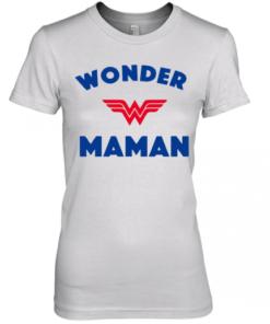 Wonder Woman Maman shirt Premium Women's Quality T-Shirt