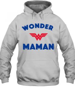 Wonder Woman Maman shirt Quality Quality Hoodie