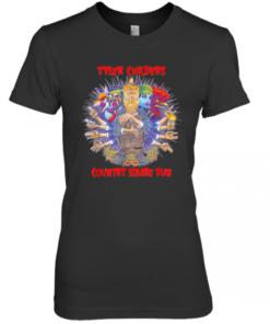 Yler Childers Bluegrass Music Playing Guitar Music Premium Women's Quality T-Shirt