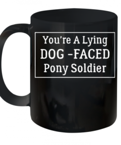 You'Re A Lying Dog Faced Pony Soldier Joe Biden Quality Mug 11oz