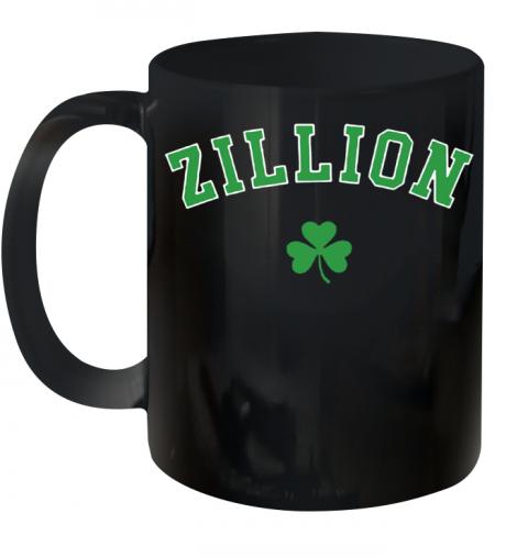 Zillion Beers Shamrock Quality Mug 11oz