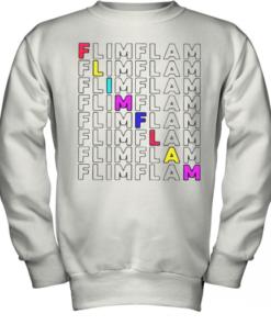 Flamingo Flim Flam Youth Quality Sweatshirt
