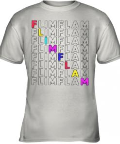 Flamingo Flim Flam Youth Quality T-Shirt