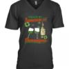 Fueled By Jameson And Shenanigans Irish St. Patrick'S Day V-Neck Quality T-Shirt