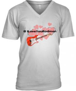 Guitar @Iloveyourodman V-Neck Quality T-Shirt