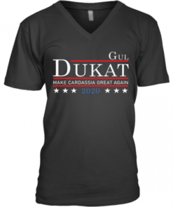 Gul Dukat Make Cardassia Great Again 2020 V-Neck Quality T-Shirt