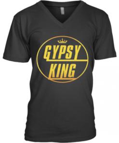 Gypsy King Tyson Fury V-Neck Quality T-Shirt