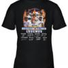 Houston Astros Legends Nolan Ryan Jeff Bagwell Craig Biggio Signatures shirt Youth Quality T-Shirt