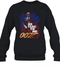 Jame Bond No Time To Die 007 Quality Sweatshirt
