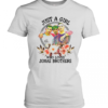 Just A Girl Who Loves Jonas Brothers Women's Quality T-Shirt