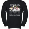 The Chicago White Sox 120Th Anniversary 1990 2020 Thank You For The Memories Signatures Youth Quality Sweatshirt