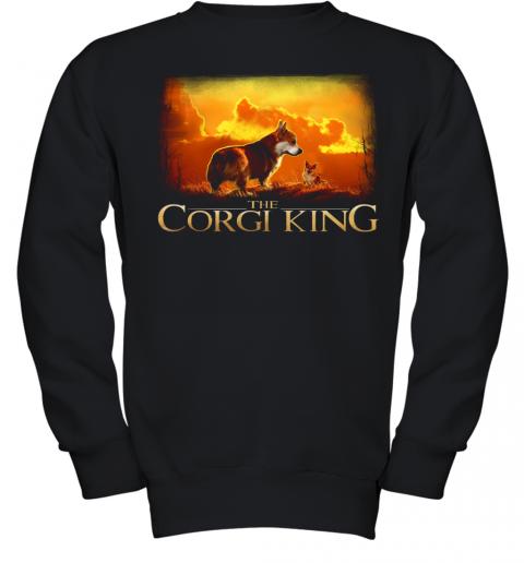 The Corgi King Youth Quality Sweatshirt