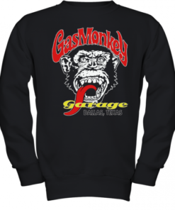 The Gas Monkey Garage Dallas Texas Youth Quality Sweatshirt