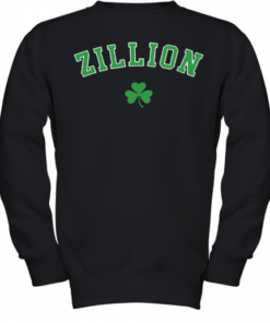 Zillion Beers Shamrock Youth Quality Sweatshirt